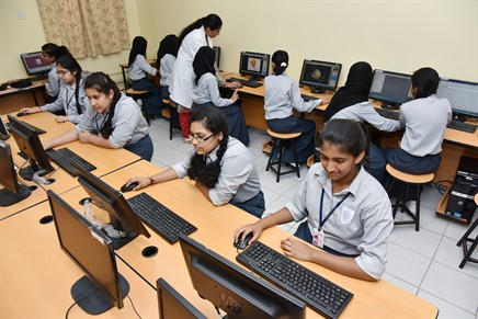 Image result for indian school students work on computer